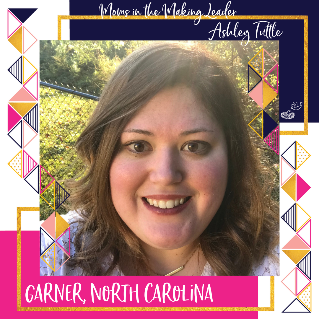 Ashley Tuttle, leader of Garner, NC group