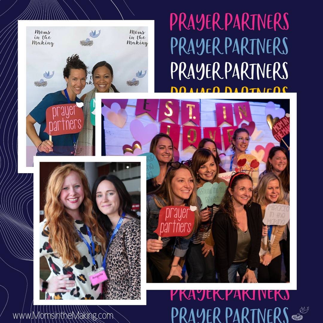 Prayer Partners moms in the making