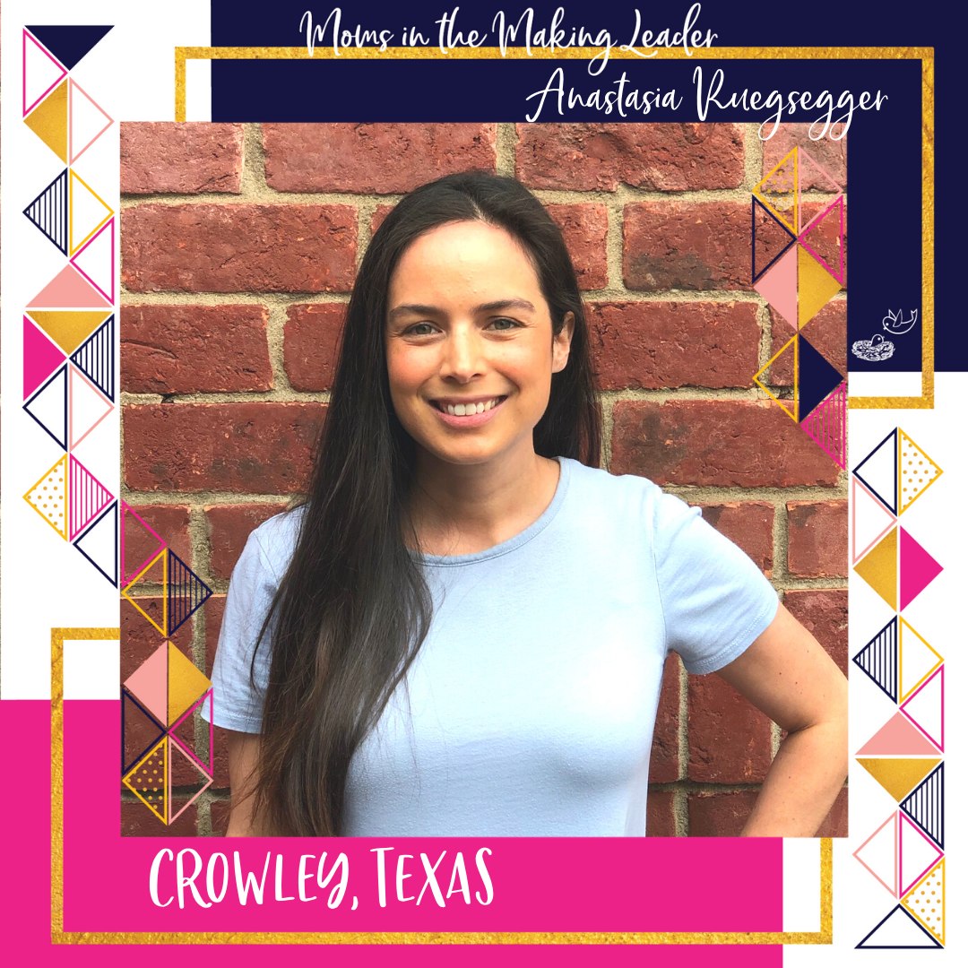 Moms in the Making Leader Anastaasia Ruegsegger, Crowley, Texas png